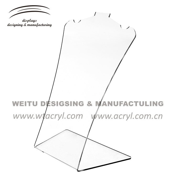 WJ-1231--A necklace  jewelry display stand earrings holder jewelry display stand earring acrylic jewelry display