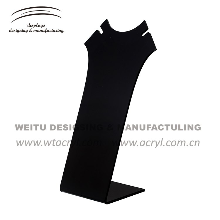 WJ-432--necklace  jewelry display stand earrings holder jewelry display stand earring acrylic jewelry display