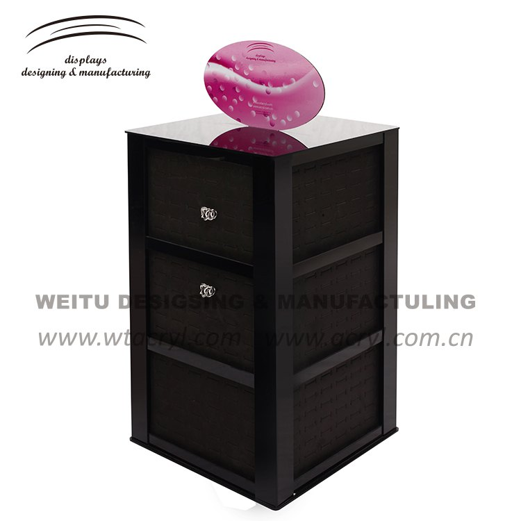 WJ-201-- ring earrings  jewelry display stand earrings holder jewelry display stand earring acrylic jewelry display